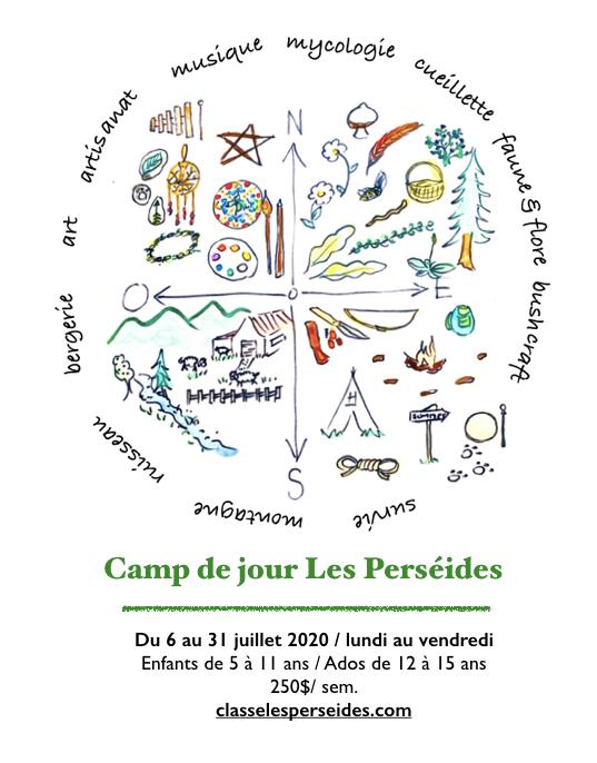 camp d'été 2020 affiche